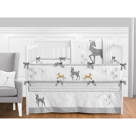 Deer Crib Bedding Set by Sweet Jojo Designs - 9 piece