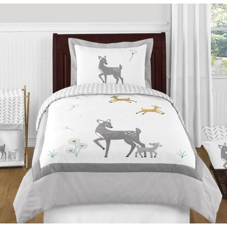 Deer Bedding Set - 4 Piece Twin Size By Sweet Jojo Designs