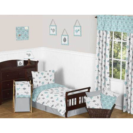 Earth and Sky Toddler Bedding Set By Sweet Jojo Designs