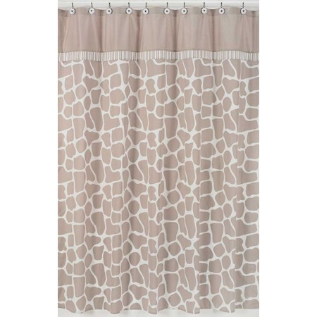 Giraffe Shower Curtain by Sweet Jojo Designs