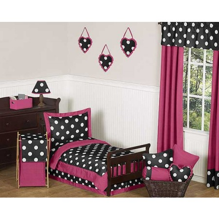 Hot Dot Toddler Bed Set by Sweet Jojo Designs
