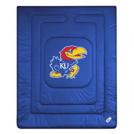 Kansas Jayhawks Bedding - Locker Room Comforter