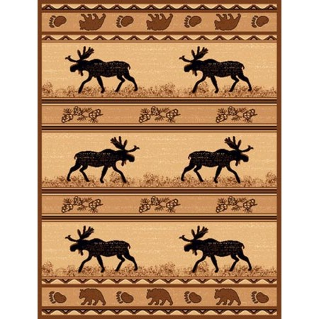 LODGE-365 Southwest Moose Area Rug - Lodge Collection
