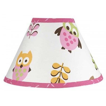 Happy Owl Lamp Shade