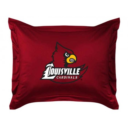 Louisville Cardinals Sideline Pillow Sham