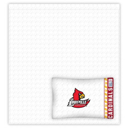 Louisville Cardinals Sheet Set - Queen Size