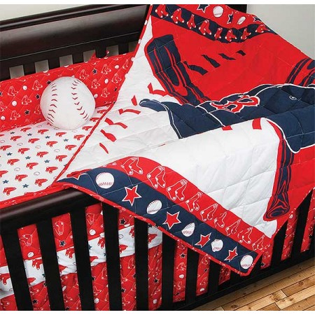 Boston Red Sox Crib Set