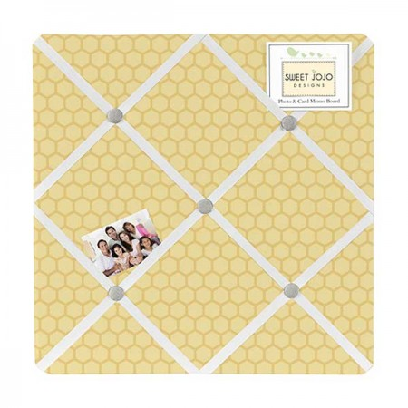 Honey Bee Fabric Memo Board