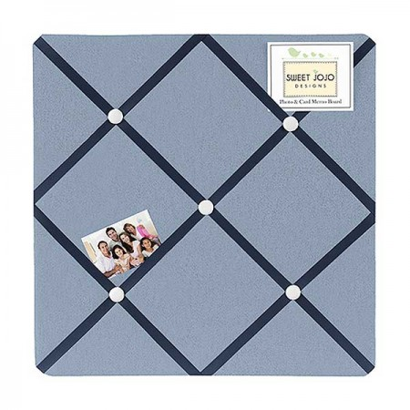Ocean Blue Fabric Memo Board