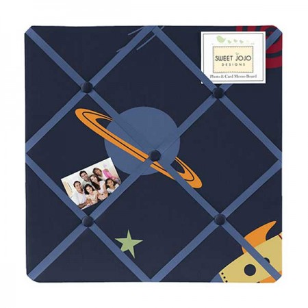 Space Galaxy Fabric Memo Board