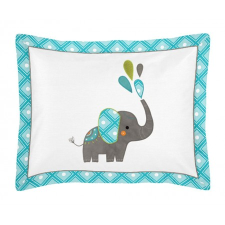 Mod Elephant Pillow Sham