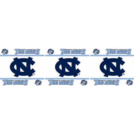 "North Carolina Tar Heels Wall Border - 5"" Tall X 15' Long"