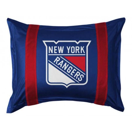 New York Rangers Sideline Pillow Sham