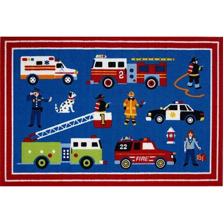 Olive Kids Heroes Rug from Fun Rugs