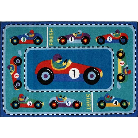 Olive Kids Vroom Accent Rug from Fun Rugs