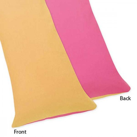 Butterfly Pink & Orange Body Pillow Cover