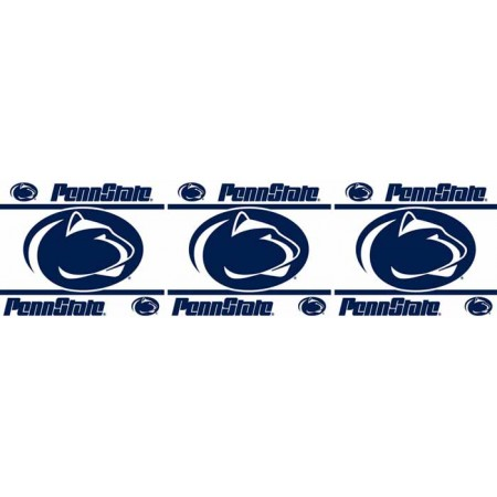 "Penn State Nittany Lions Wall Border - 5"" Tall X 15' Long"