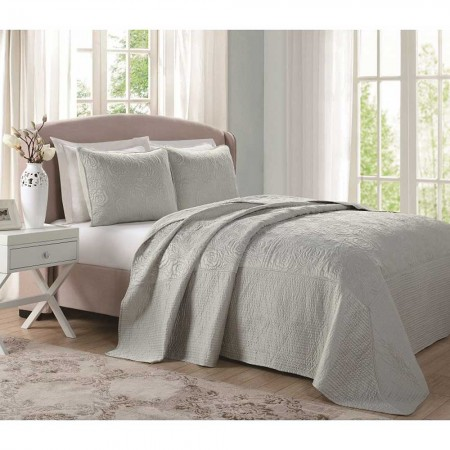 Laura Ashley Bedspread - Sage Green - Queen Size