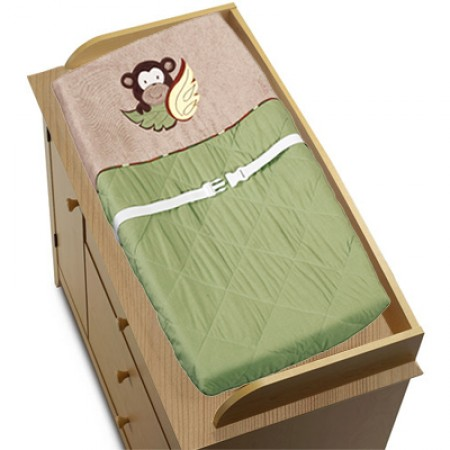 Monkey Changing Pad Cover