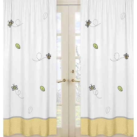 Honey Bee Window Panels