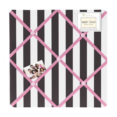 Paris Fabric Memo Board