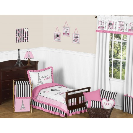 Paris Toddler Bedding Set By Sweet Jojo Designs
