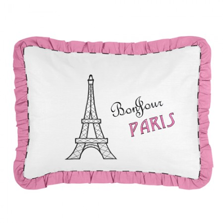 Paris Pillow Sham