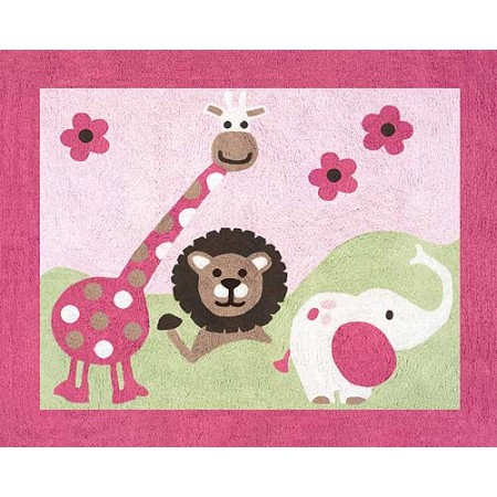 Jungle Friends Floor Rug