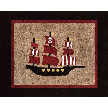 Pirate Treasure Cove Floor Rug