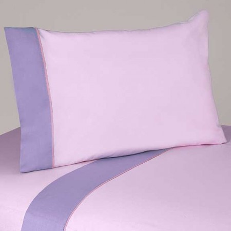 Butterfly Pink & Lavender Twin Size Sheet Set
