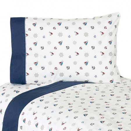 Nautical Nights Sheet Set