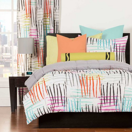 Stroke Of Genius Comforter Set From Crayola