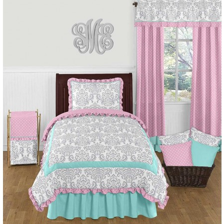 Skylar Bedding Set - 4 Piece Twin Size By Sweet Jojo Designs