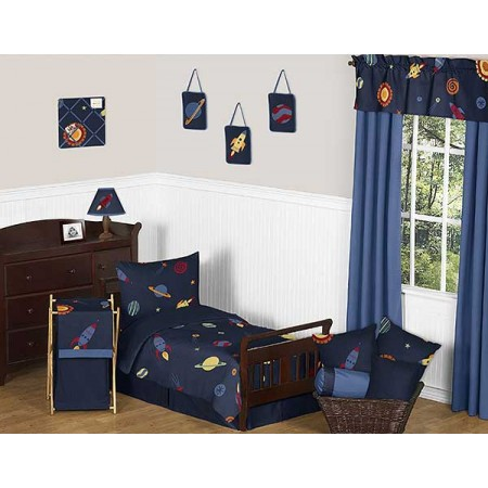 Space Galaxy Toddler Bedding Set By Sweet Jojo Designs