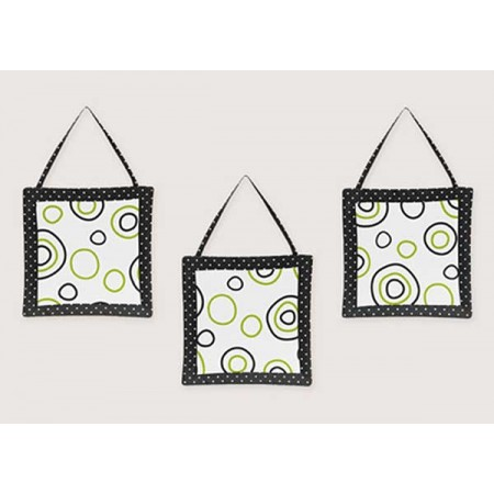 Spirodot Lime Wall Hanging