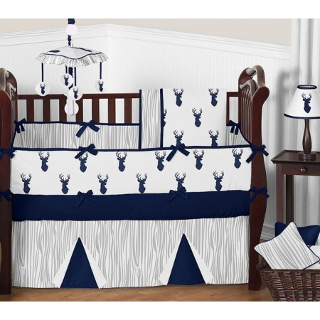 Stag Crib Bedding Set by Sweet Jojo Designs - 9 piece