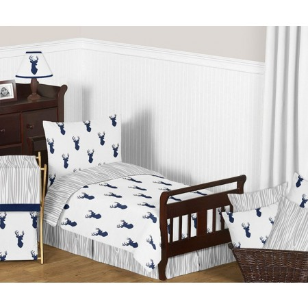 Stag Toddler Bedding Set By Sweet Jojo Designs
