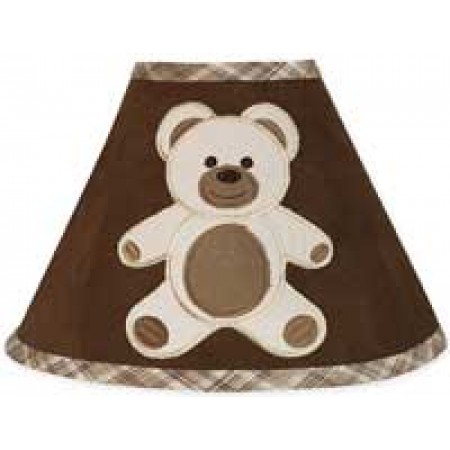 Teddy Bear Chocolate Lamp Shade