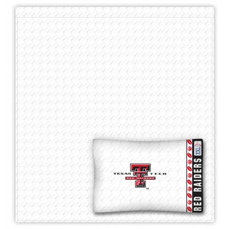 Texas Tech Red Raiders Sheet Set - Queen Size