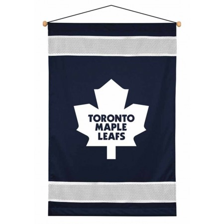 Toronto Maple Leafs Sideline Wall Hanging - 28 X 45