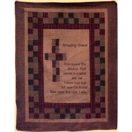 Amazing Grace Throw Size Quilt