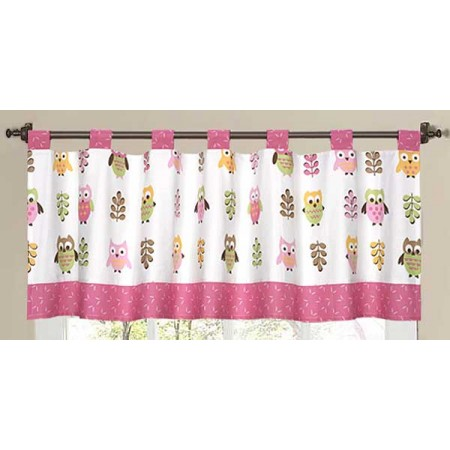 Happy Owl Valance
