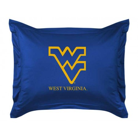West Virginia Mountaineers Sideline Pillow Sham