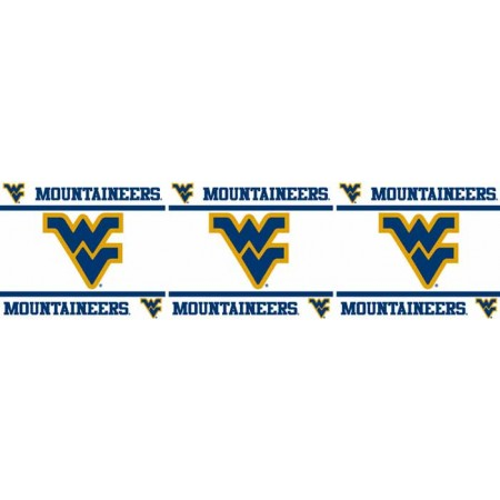 "West Virginia Mountaineers Wall Border - 5"" Tall X 15' Long"