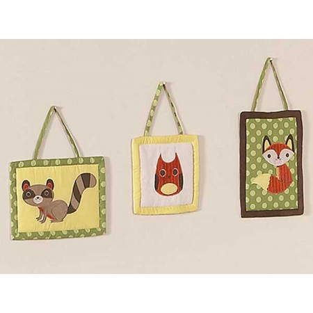 Forest Friends Wall Hanging