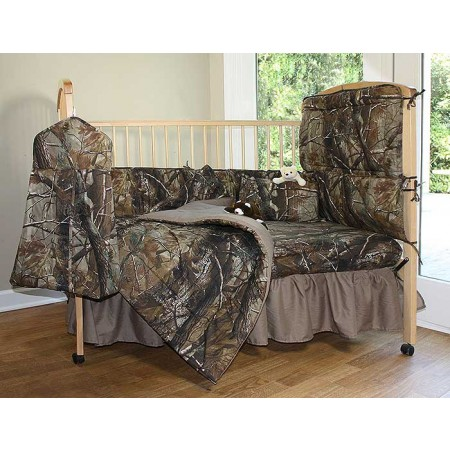 All Purpose Camouflage 3 Piece Crib Set