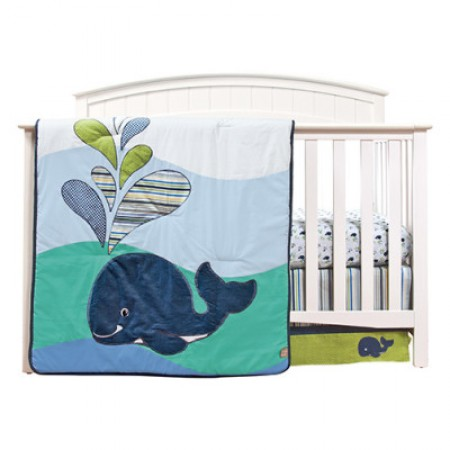 Anchors Away 3 Piece Crib Bedding Set