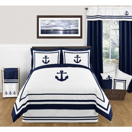 Anchors Away Comforter Set - 3 Piece Full/Queen Size by Sweet Jojo Designs