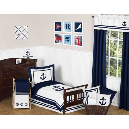 Anchors Away Toddler Bedding Set by Sweet Jojo Designs