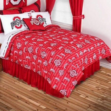 Ohio State Buckeyes Comforter - All Over Print